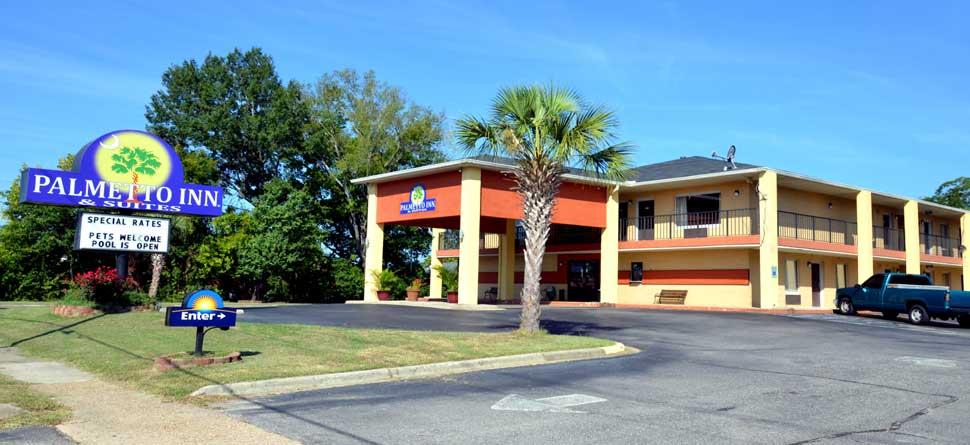 Budget Affordable Cheap Lodging Hotels Motels Palmetto Inn and Suites